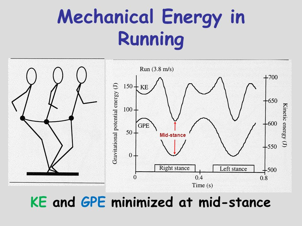 Mechanical Energy in Running