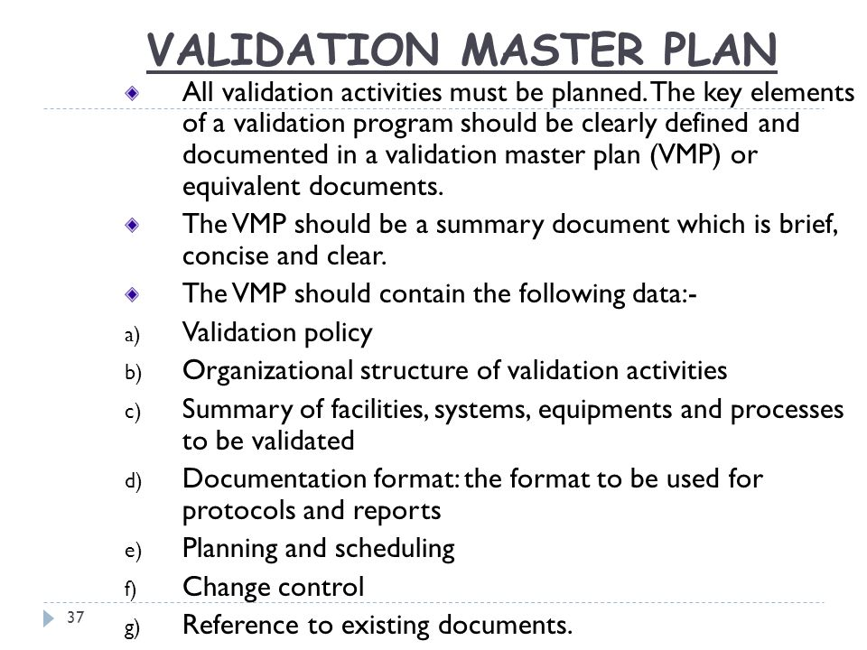 Magnificent Master Validation Plan Template Gallery Resume Ideas