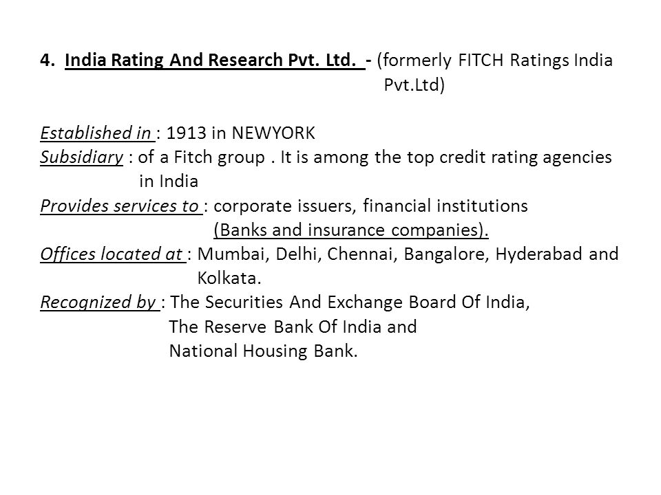 credit rating research papers The office of financial research (ofr) delivers high-quality financial data, standards, and analysis to promote financial stability.