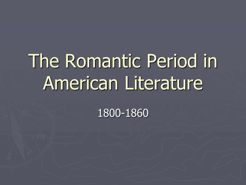 art of the romantic period essay Neoclassical art and romanticism (research paper sample) the age of enlightenment was followed by the romantic period with over 10 years in the essay business.
