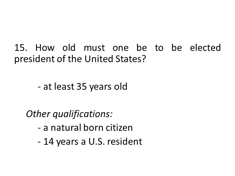 The Three Branches Of Government Ppt Download - How old is united states