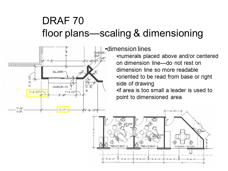 Draf 70 Floor Plans Scaling Dimensioning Ppt Download