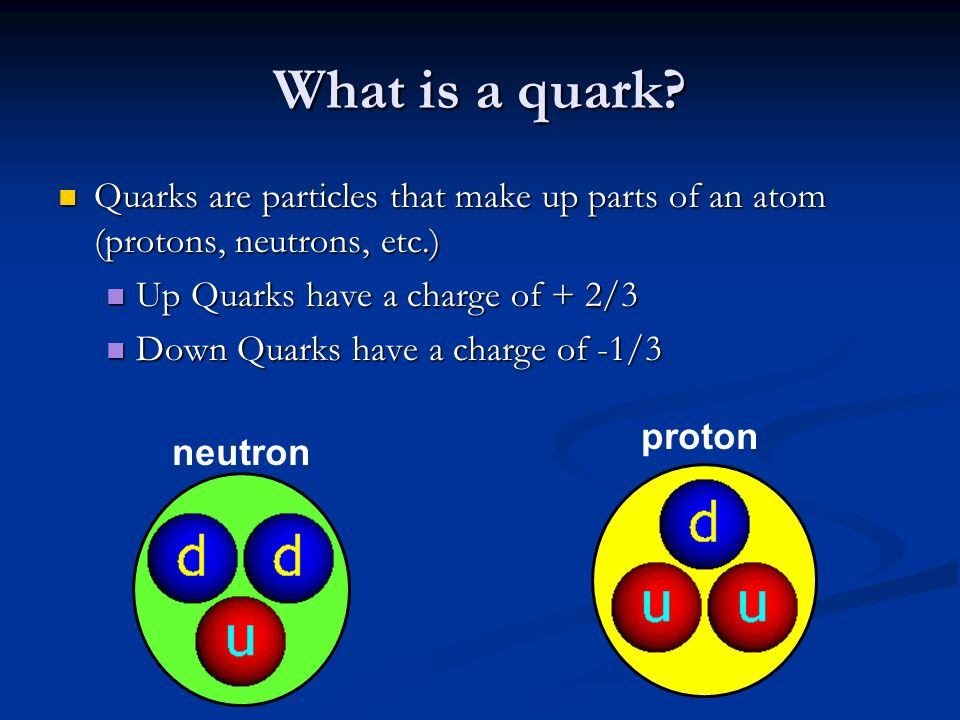 Quark Atom