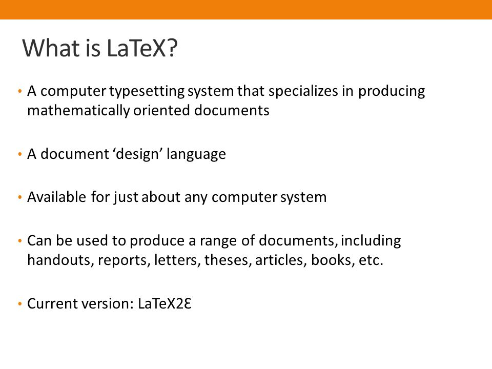Introduction To LaTeX And Bibtex