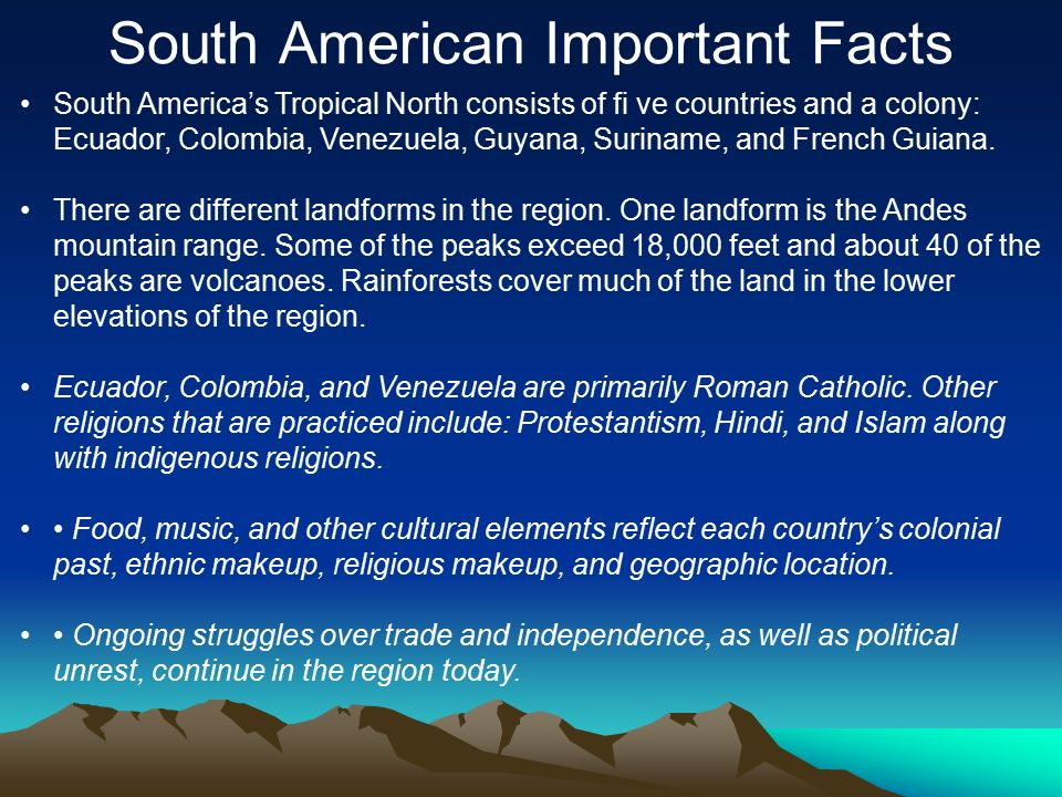 central american important facts ppt download