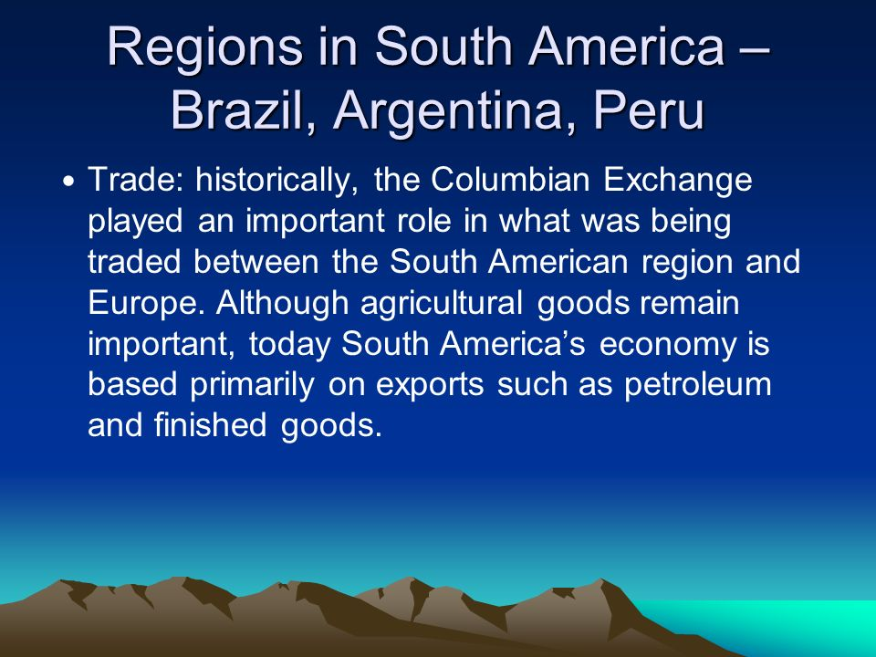 The Columbian Exchange: An Overview