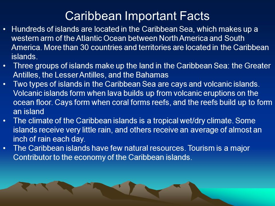 Central american important facts ppt download for Fun facts about america