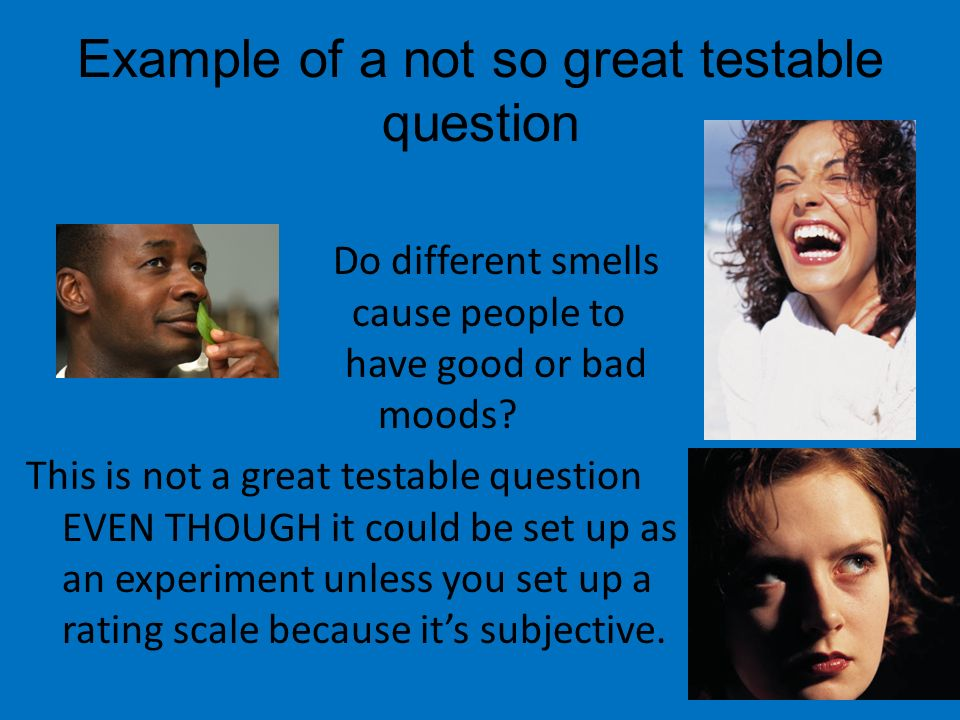 How to Write a Testable Hypothesis
