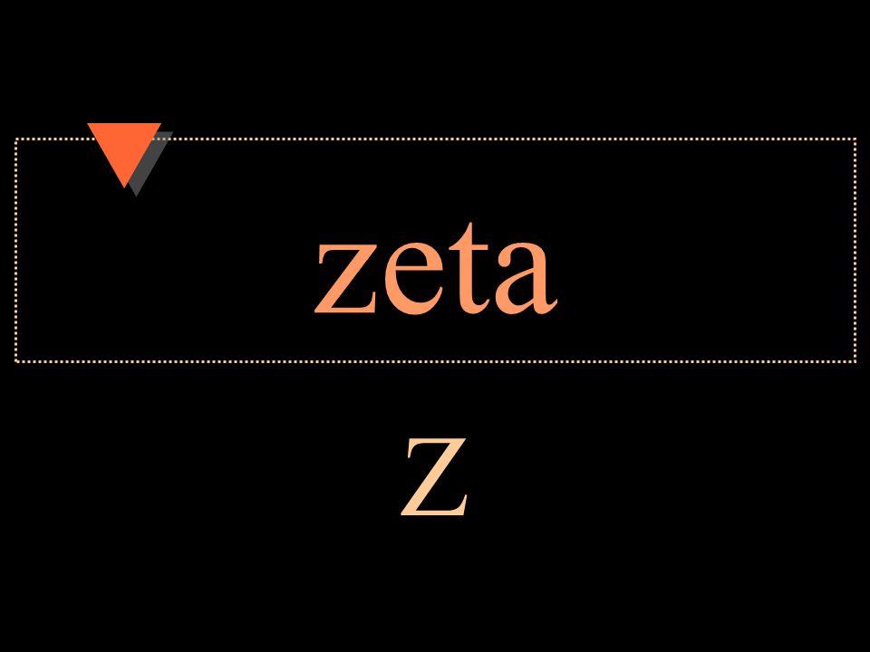zeta Z