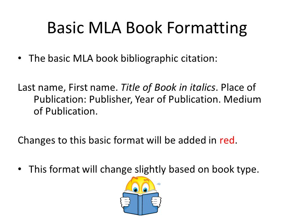 mla format citing a book How to cite a handout using mla format carole ellis  read on to learn how to cite a book with multiple authors using mla style write the authors' names, followed by a period if there are only two authors, then you need to list both in the same order that their names appeared on the title page  how to do mla citation for a book erin.