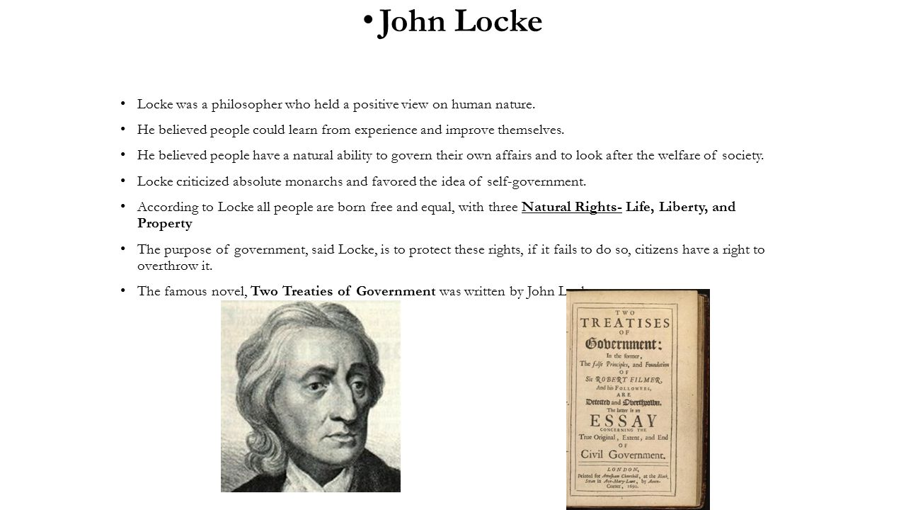 essays written by john locke John yolton: john locke and the way of ideas (1956) • an essay concerning human understanding by john locke is published by wordsworth editions (£399) to order a copy for £339 go to guardianbookshopcom or call 0330 333 6846.