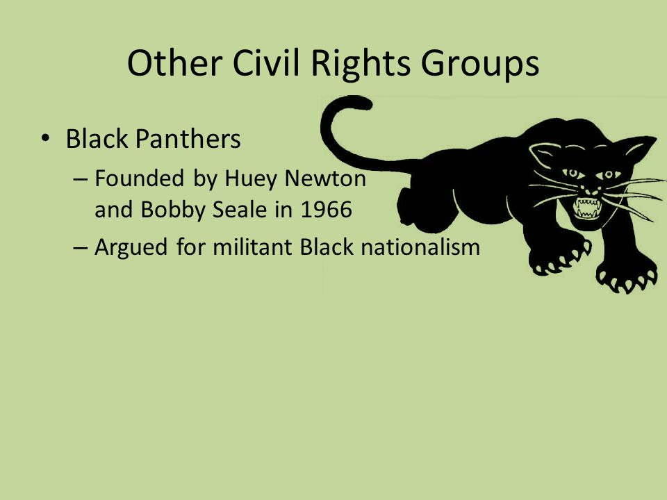 civil rights movement and black nationalism Black power adherents believed in black autonomy, with a variety of tendencies such as black nationalism, black self-determination, and black separatismsuch positions caused friction with leaders of the mainstream civil rights movement, and thus the two movements have sometimes been viewed as inherently antagonistic.