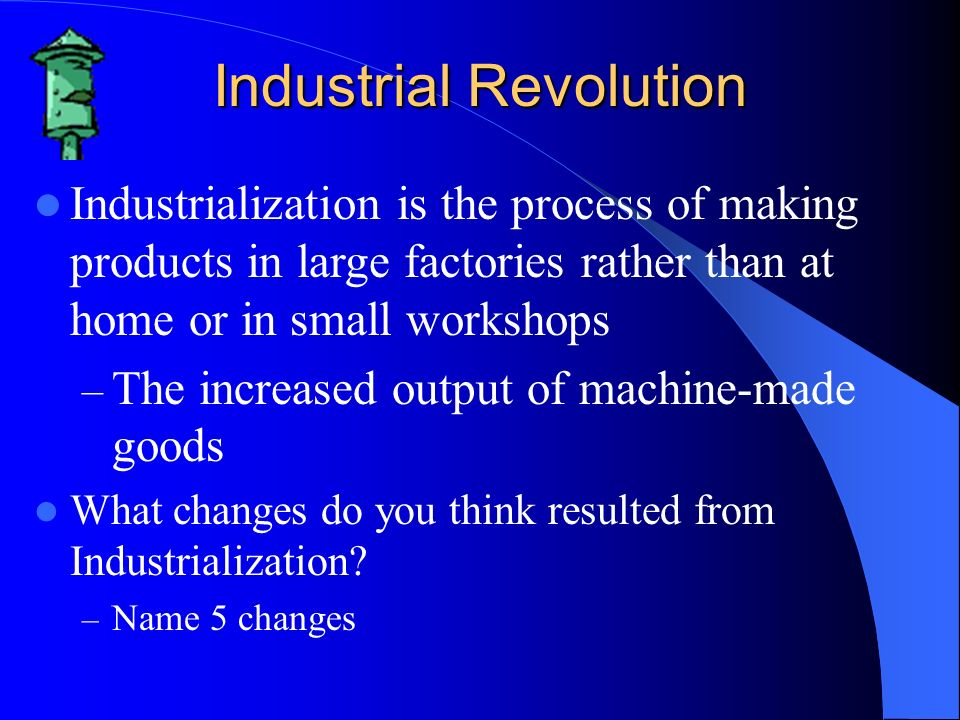 Industrialisation