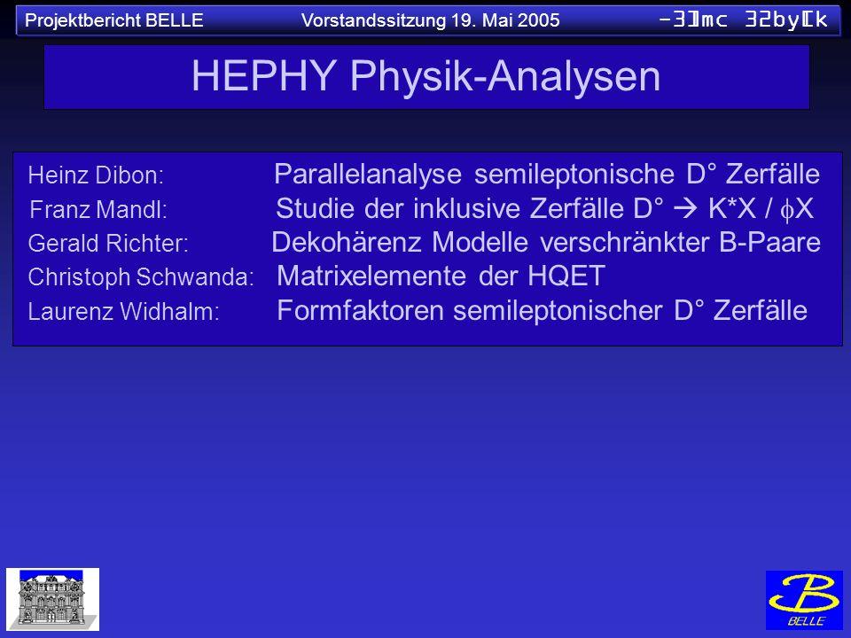 HEPHY Physik-Analysen