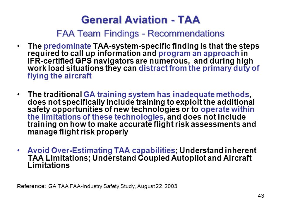 Duty Of Care Safety Assessment And Flight Test Assurance