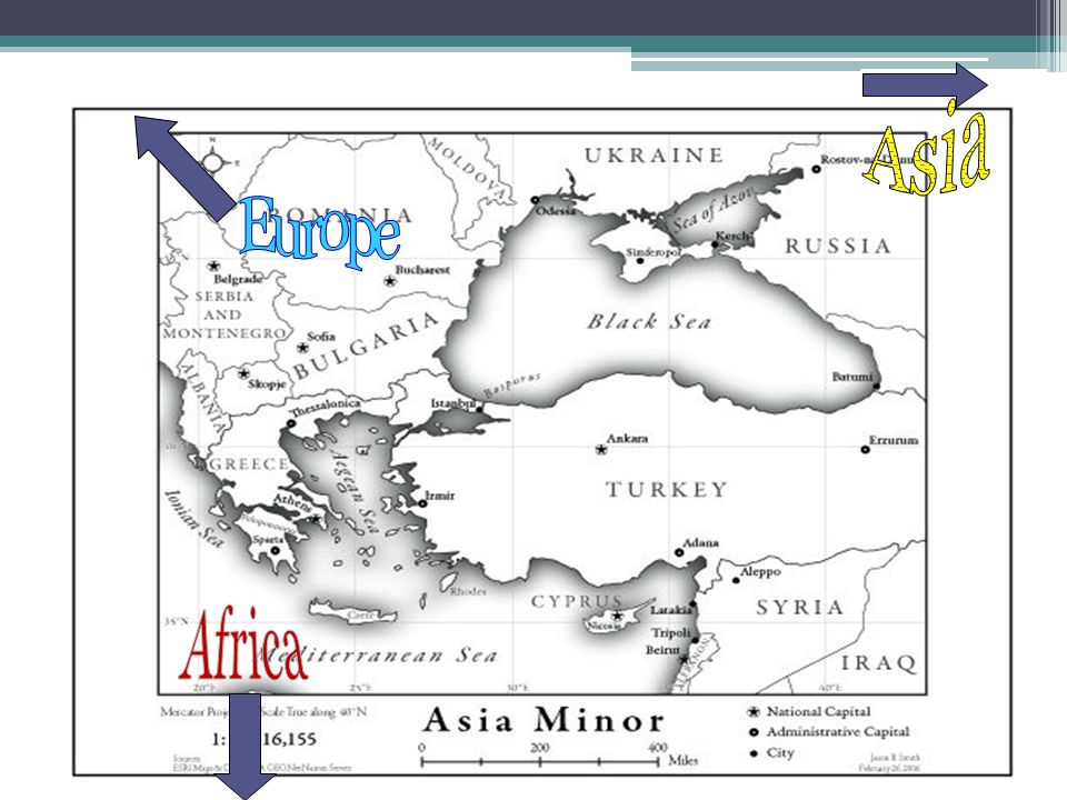 Asia Europe Africa