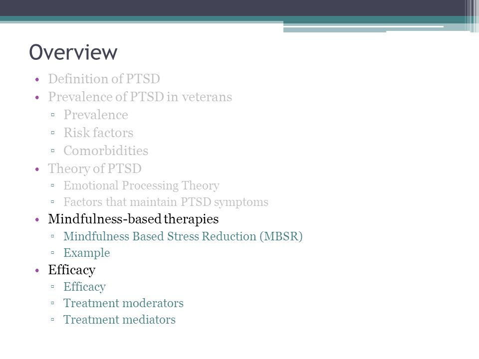 cbt for ptsd treatment manual