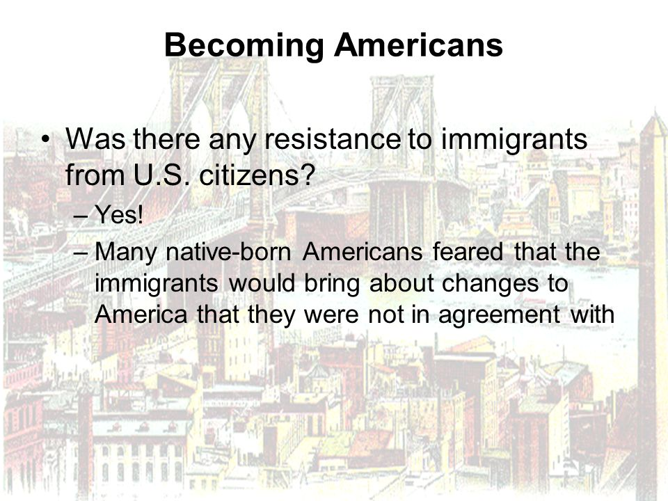 the major changes in america brought by immigration The immigration act of 1924 limited the number of immigrants allowed entry into  the  of the total number of people of each nationality in the united states as of  the  over 16 years old to demonstrate basic reading comprehension in any  language  another change to the quota altered the basis of the quota  calculations.