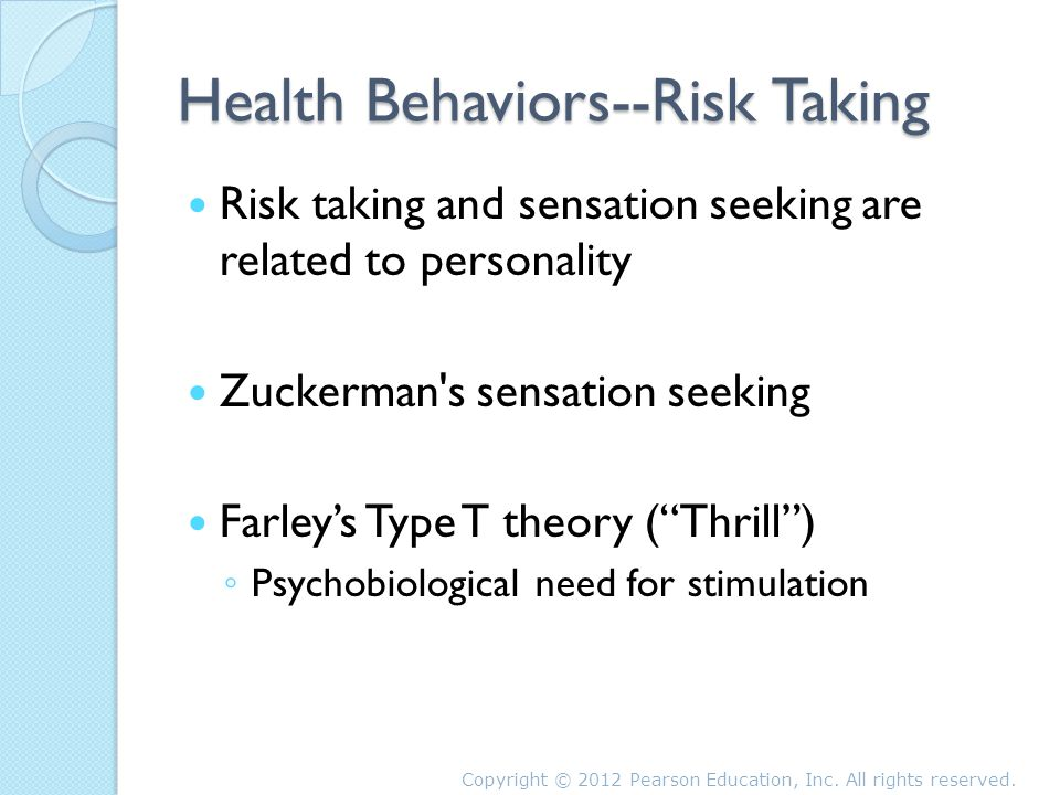 personality psychology and sensation seeker Video created by emory university for the course the psychology of thrill seekers in this week, we'll examine the curious beginnings of sensation-seeking research, discuss the four components that make up sensation seeking, and discuss the.