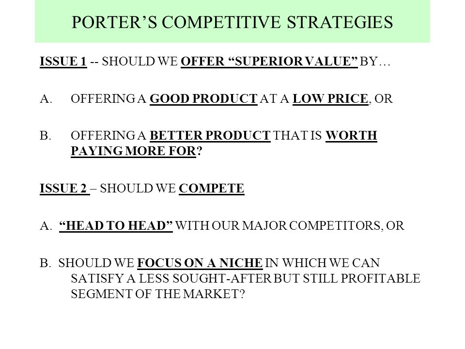 porter s generic strategies for game console industry Aver is an award-winning provider of visual collaboration solutions our product portfolio includes document camera, charging cart, video conference camera, as well as.