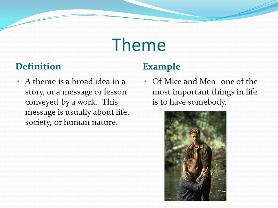 Theme definition
