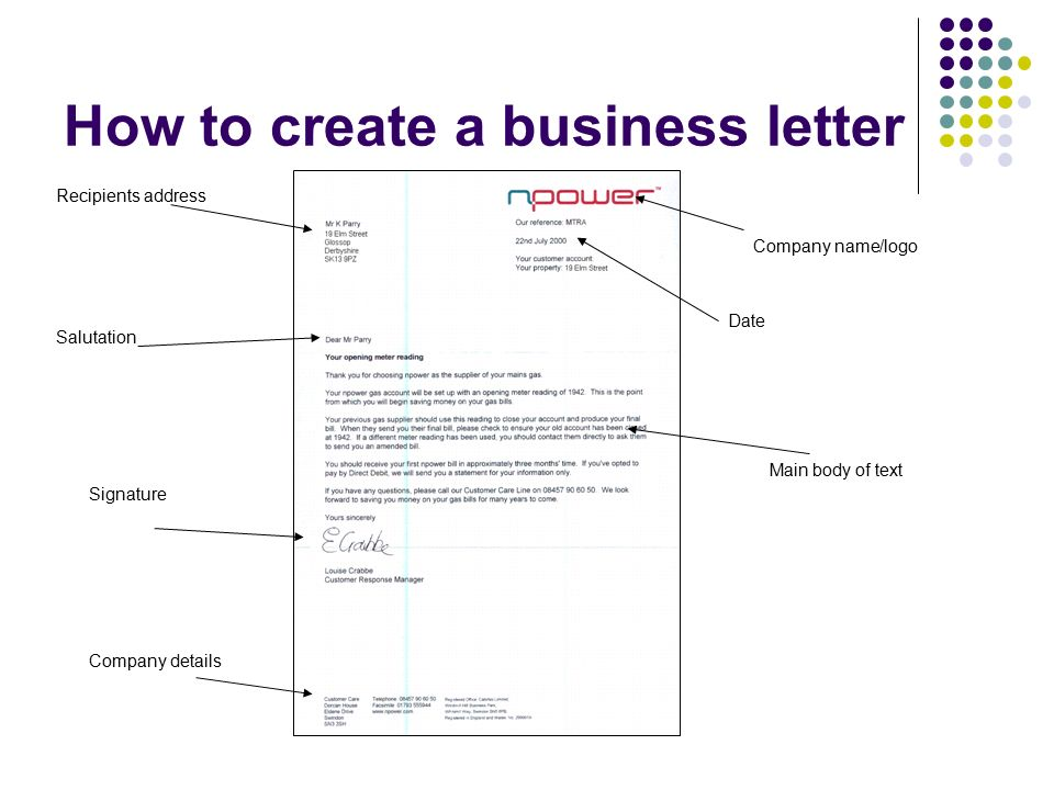 Business Documents Business Letters  Ppt Video Online Download