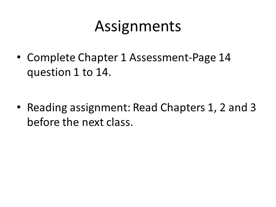 Ten100: Chapter 14 Assignment