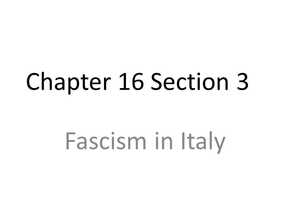 a overview of rule of benito mussolini and italy as totalitarian country Also unlike hitler, his initial intentions were not based on transforming italy into   any group suspected of planning a coup against the government, as seen in the   and the introduction of new textbooks into school systems16 propaganda in.