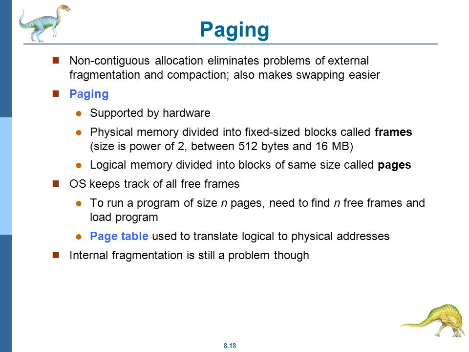 Difference Between Contiguous and Noncontiguous Memory Allocation
