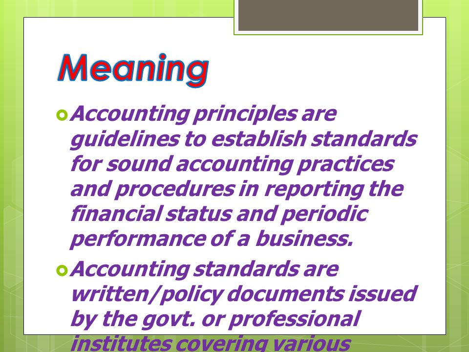 accounting principles and practices performed by Chapter 15 practice quizzes  accounting cycle that's usually performed only at the end of an accounting period  acceptable accounting principles and practices .