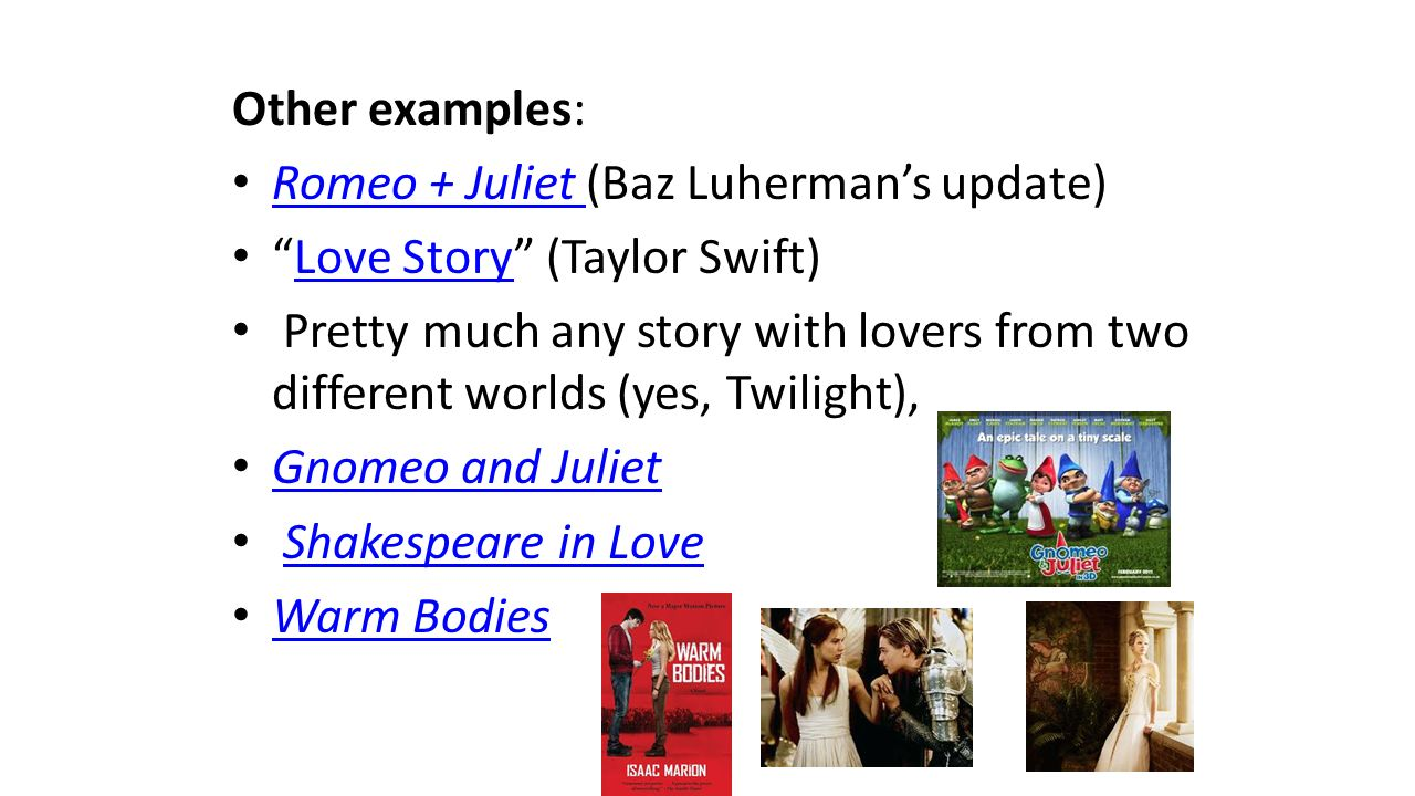 a comparison of two timeless dramas in romeo and juliet and west side story Comparing romeo and juliet and west side story comparison romeo and juliet versus west side story romeo and juliet, west side story, two timeless dramas that.