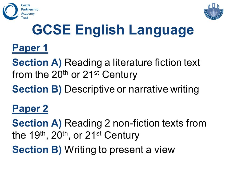 GCSE English Language