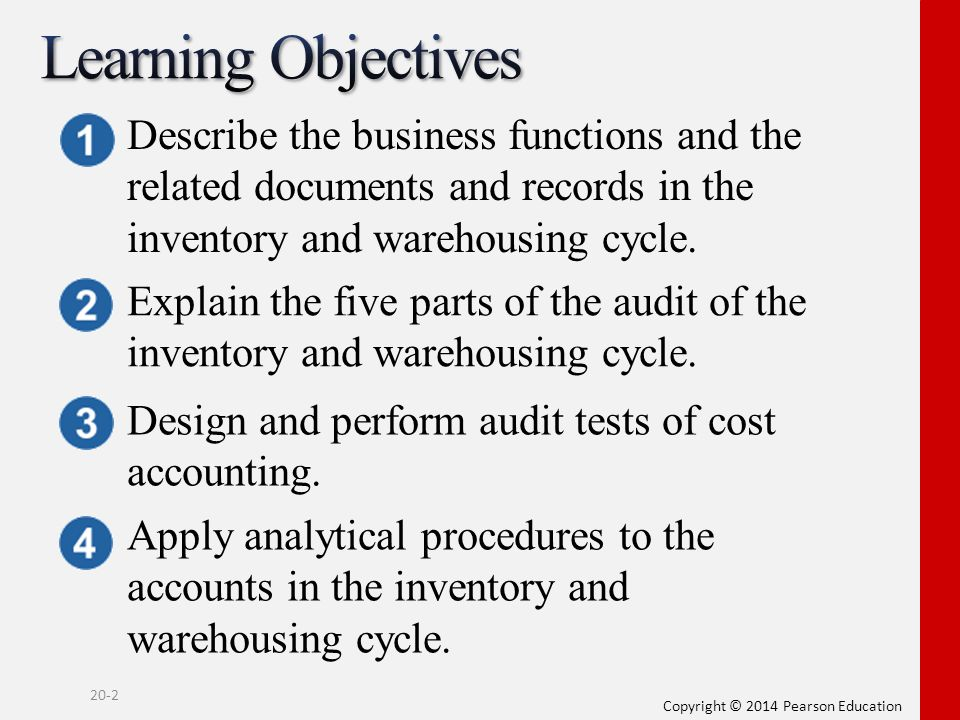 audit objectives inventory Here are some basic suggestions to get ready for the inventory audit tailor them to your client for some clients, these steps may be too much.