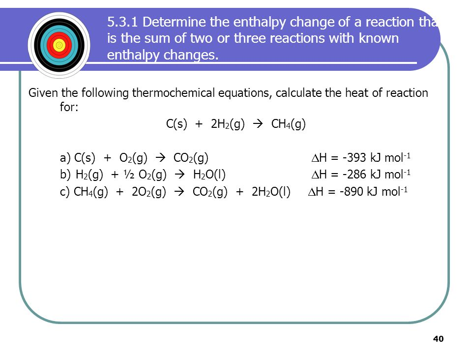 Chemistry Experiment – Calculating Enthalpy Change