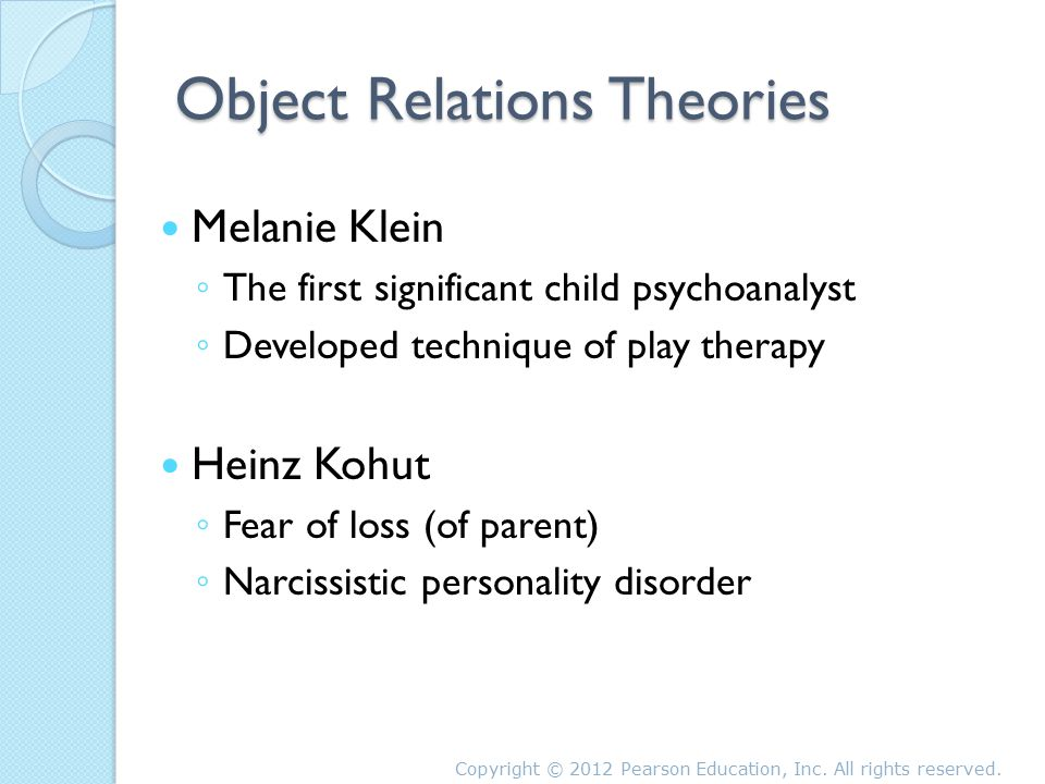 the psychological theories and therapeutic interventions in the narcissistic disorder Narcissistic rage and addiction 2 abstract an alternative to the biomedical model, psychiatrist and psychoanalyst dodes (2009) proposed a psychological theory for the treatment of addiction and the prevention of relapse, describing.