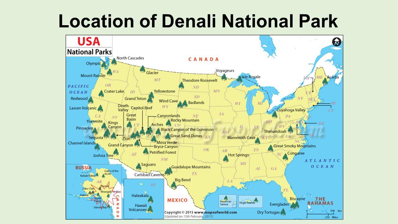 Denali national park alaska ppt video online download for Location parking