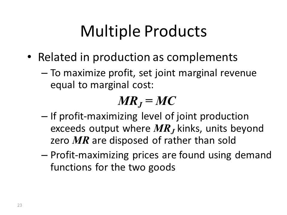What Steps Do Companies Take to Maximize Profit or Minimize Loss?