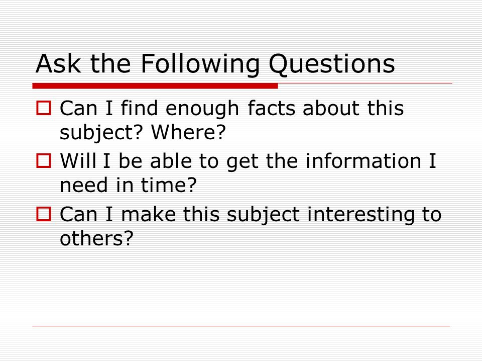 avoid asking questions in a research paper Essay questions on exams or paper assignments, on the other hand, often provide an appropriate opportunity to ask multi-layered questions  avoid asking leading .