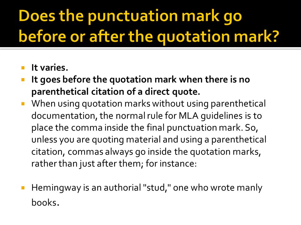 punctuation on quotes in essays Application of punctuation marks is sometimes very tricky  punctuation – apostrophes versus quotation  or quotes quotation marks can.