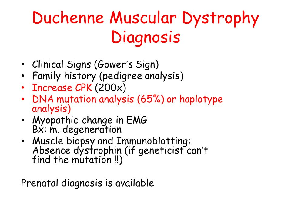 Duchenne Muscular Dystrophy Natural History