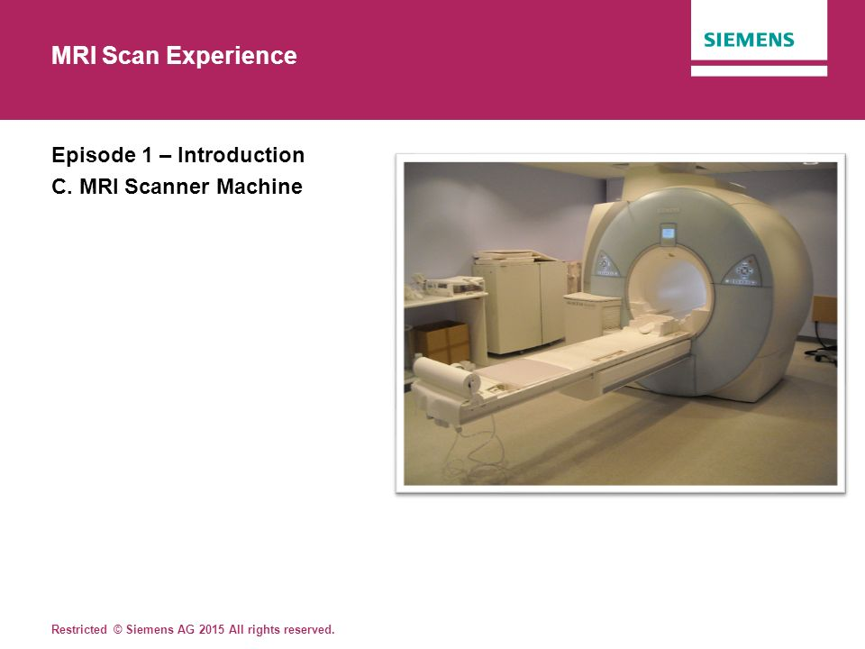 lesson plan mri scan experience - ppt video online download, Powerpoint templates
