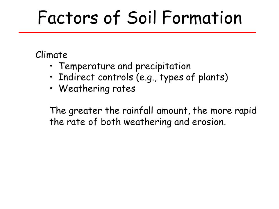 Bell ringer in a short paragraph 3 5 sentences describe for Meaning of soil formation