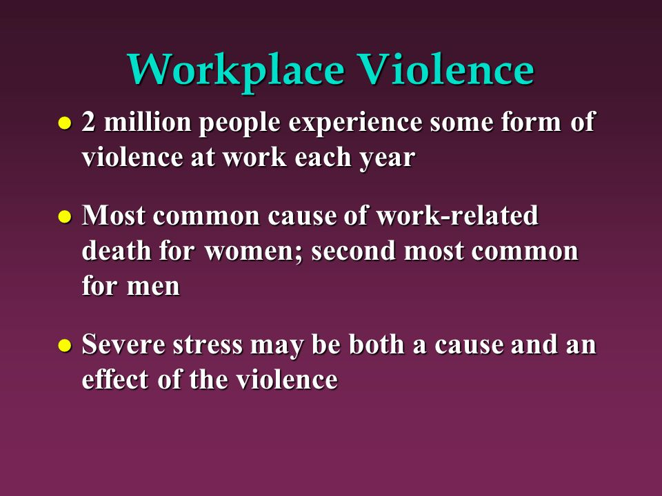 the causes and effects of job related stress What causes stress in the workplace  it can impact on both employees and employers alike  1-14, and uk health & safety executive (hse) managing the causes of work-related stress: a step-by-step approach using the management.