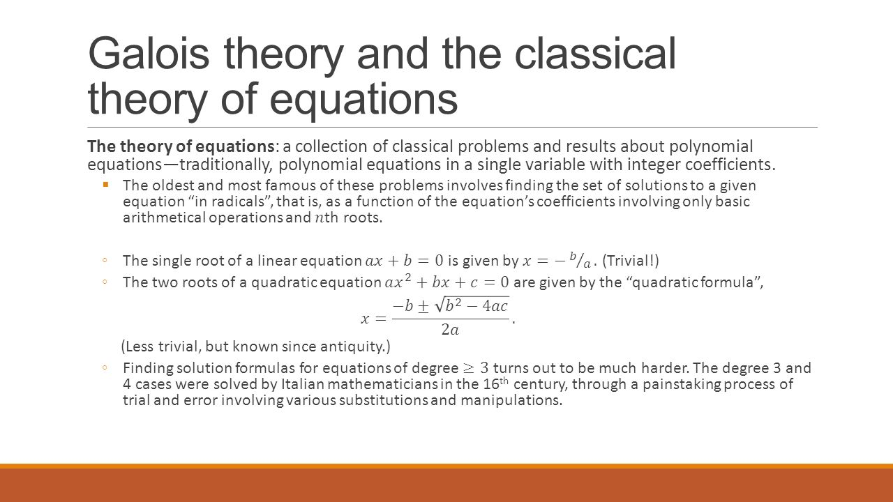 Theory Of Equations Solved Problems