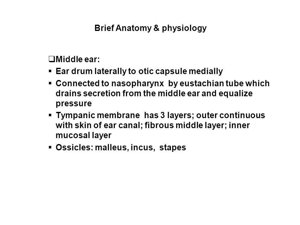 Ear Disorders Ppt Video Online Download