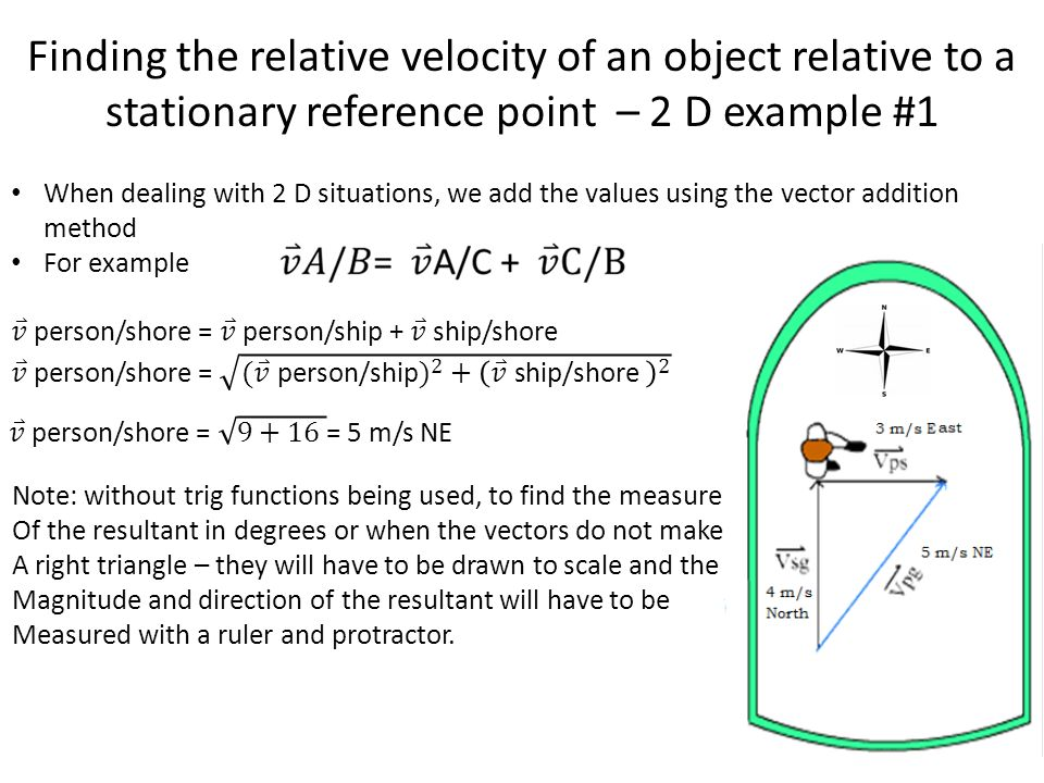 relative motion physics  u2013 2nd six weeks