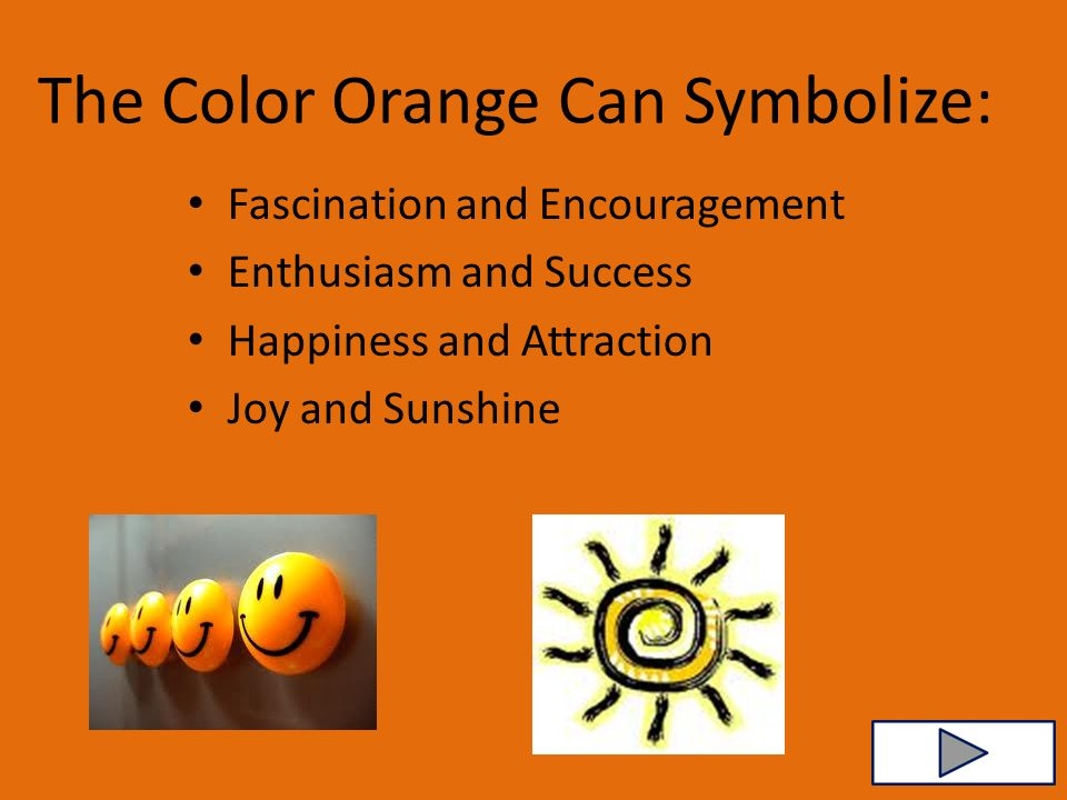 The Meaning Of The Colour Orange Loris Decoration
