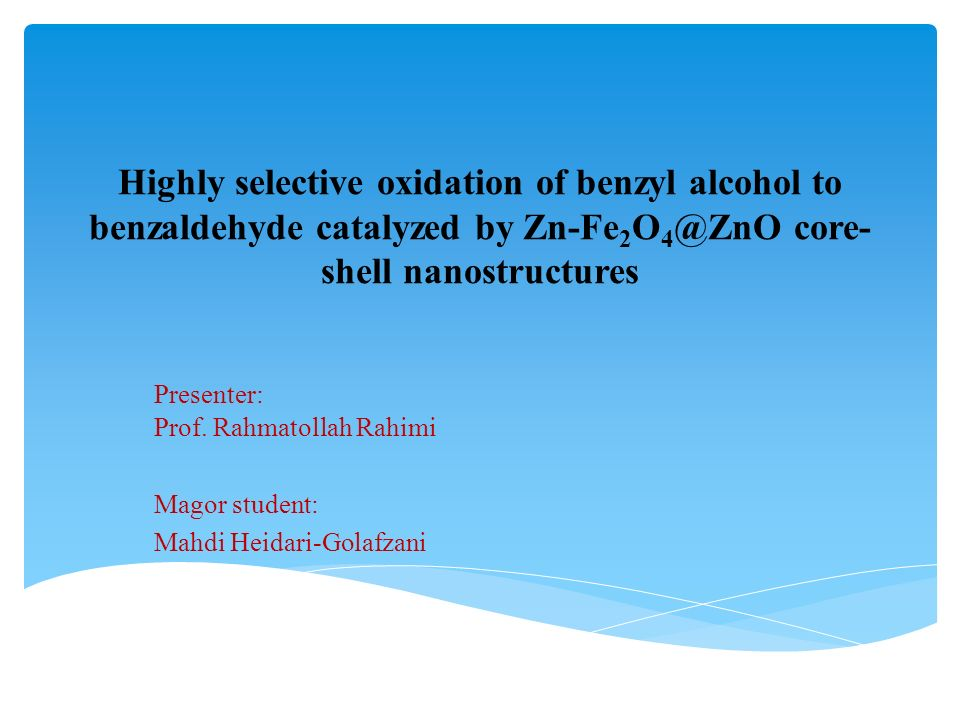 Photocatalytic oxidation of ethanol catalyzed by