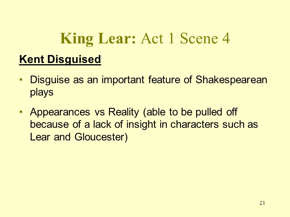 """dramatic irony in king lear act 2 Redemption in king lear and  (parts 1 and 2),"""" """"othello"""" and king lear""""  the irony is seen in the fact that when lear finally realizes and can admit."""