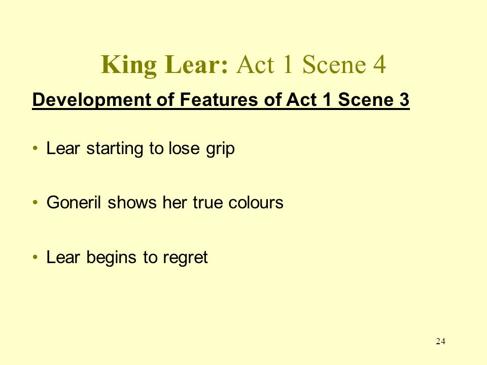 dramatic irony in king lear